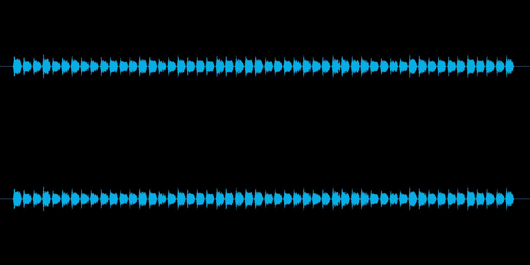 【慌てる02-1】の再生済みの波形