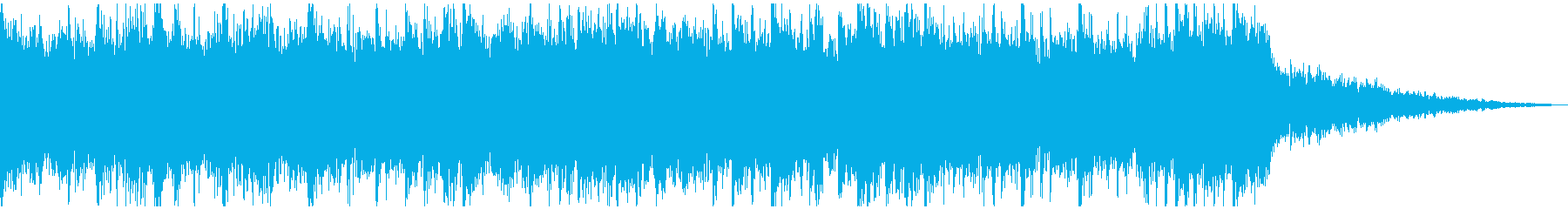 戦いゲーム、アニメ予告、最後verBの再生済みの波形