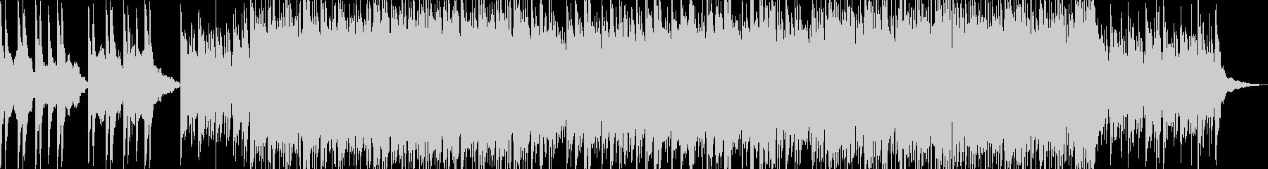 幻想的なピアノポップの未再生の波形