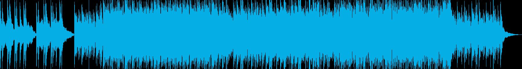 幻想的なピアノポップの再生済みの波形