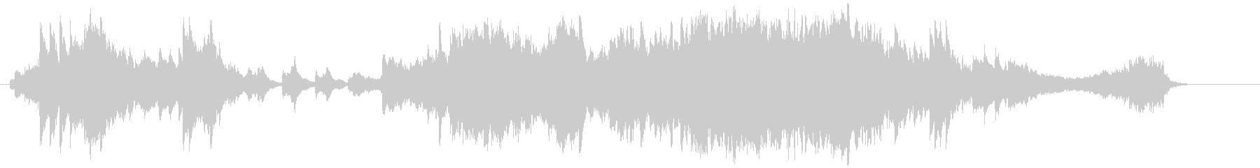 ハープが美しい壮大なバラードEDの未再生の波形