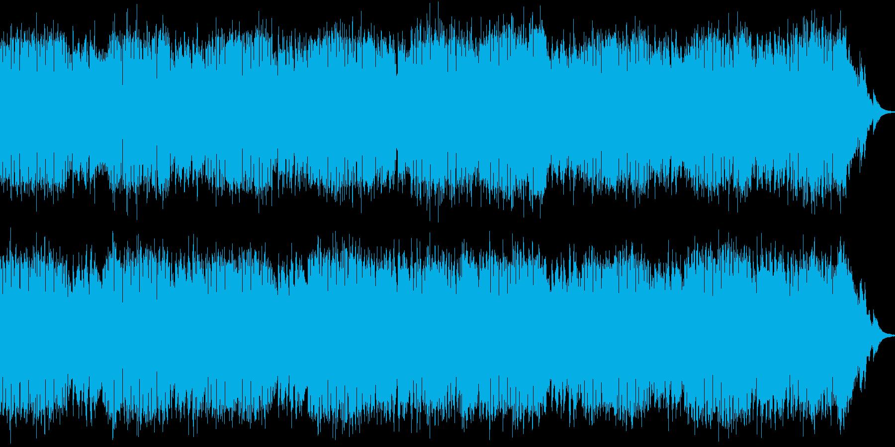 ギターのロック調インスト曲。の再生済みの波形