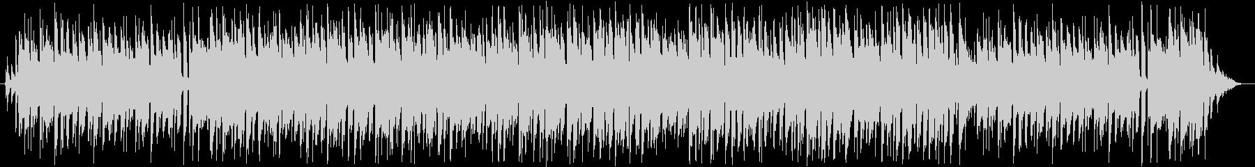ギターメロディーのボサノバ、ループ曲の未再生の波形