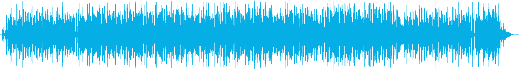 ギターメロディーのボサノバ、ループ曲の再生済みの波形