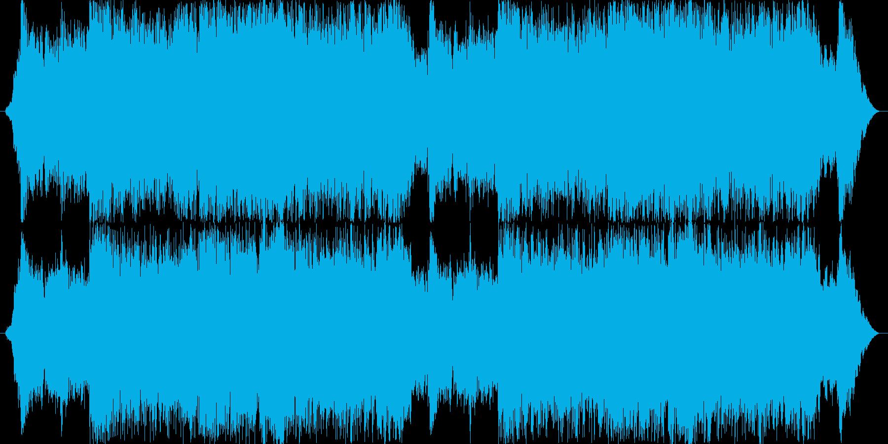 ゲームの戦闘音楽などに。緊迫感のあるB…の再生済みの波形