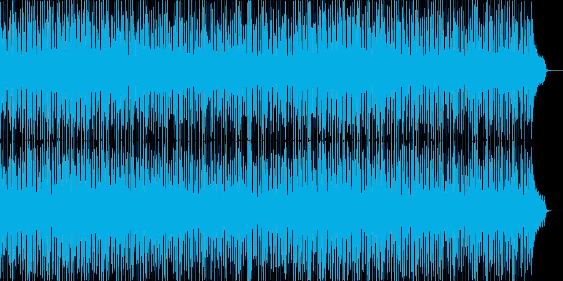 冬のショッピング、ワクワク感のあるBGMの再生済みの波形