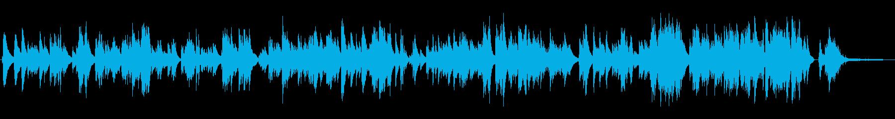 有名曲「煙が目にしみる」ジャズピアノソロの再生済みの波形