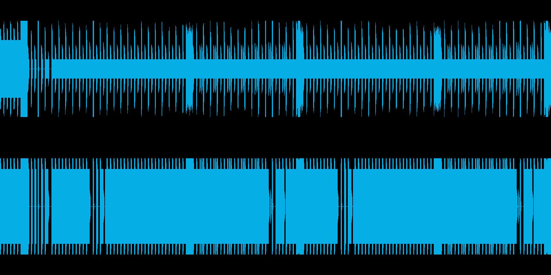 戦闘の場面での使用をイメージしてます。の再生済みの波形