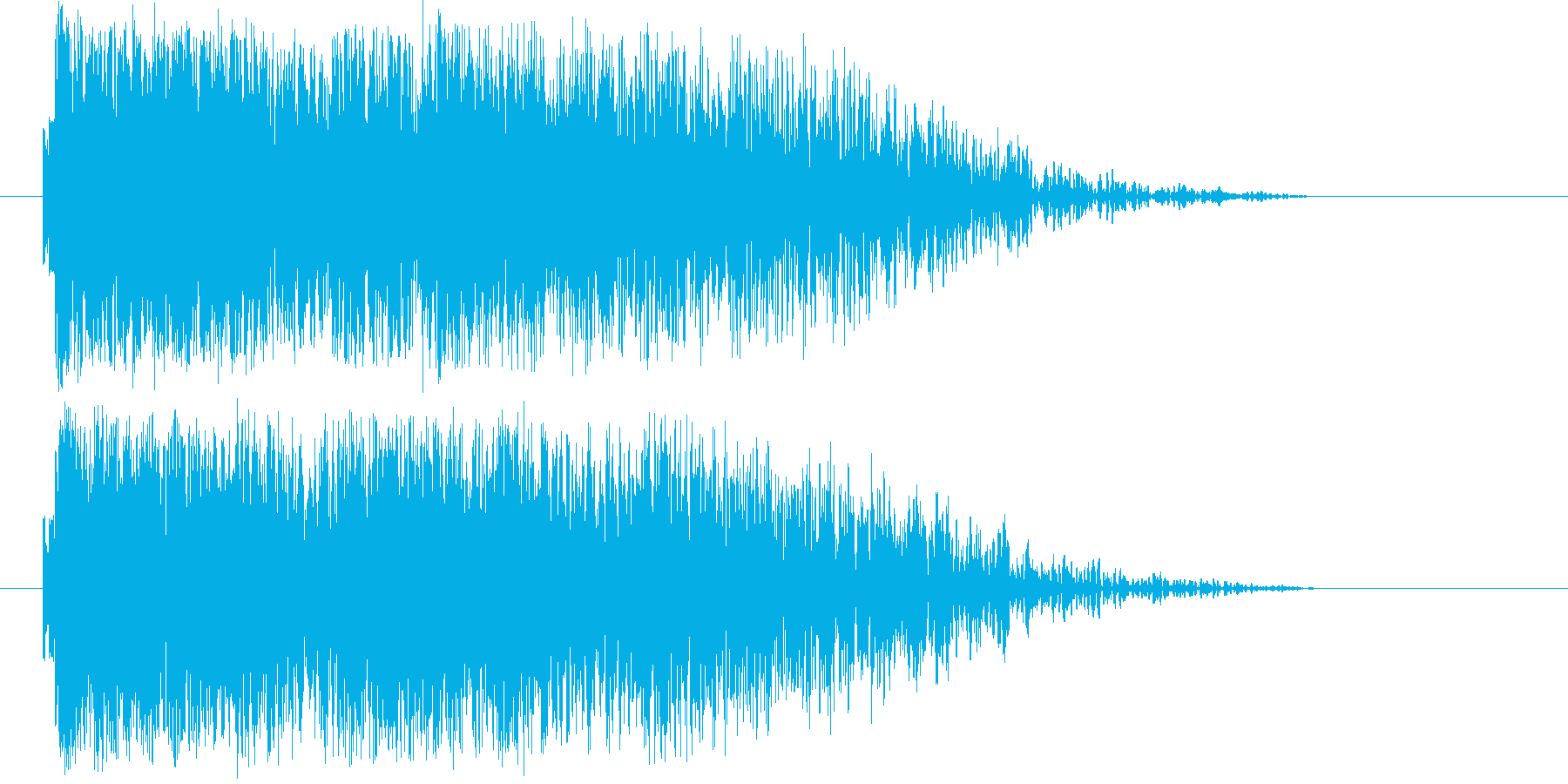 発射_爆発の再生済みの波形