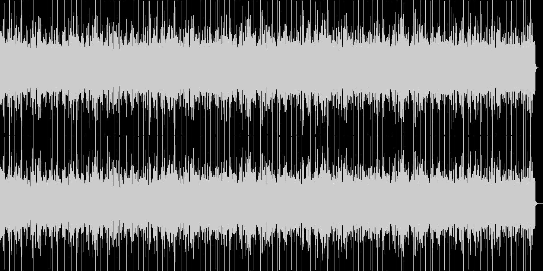 シンセベースが特徴のEDMの未再生の波形