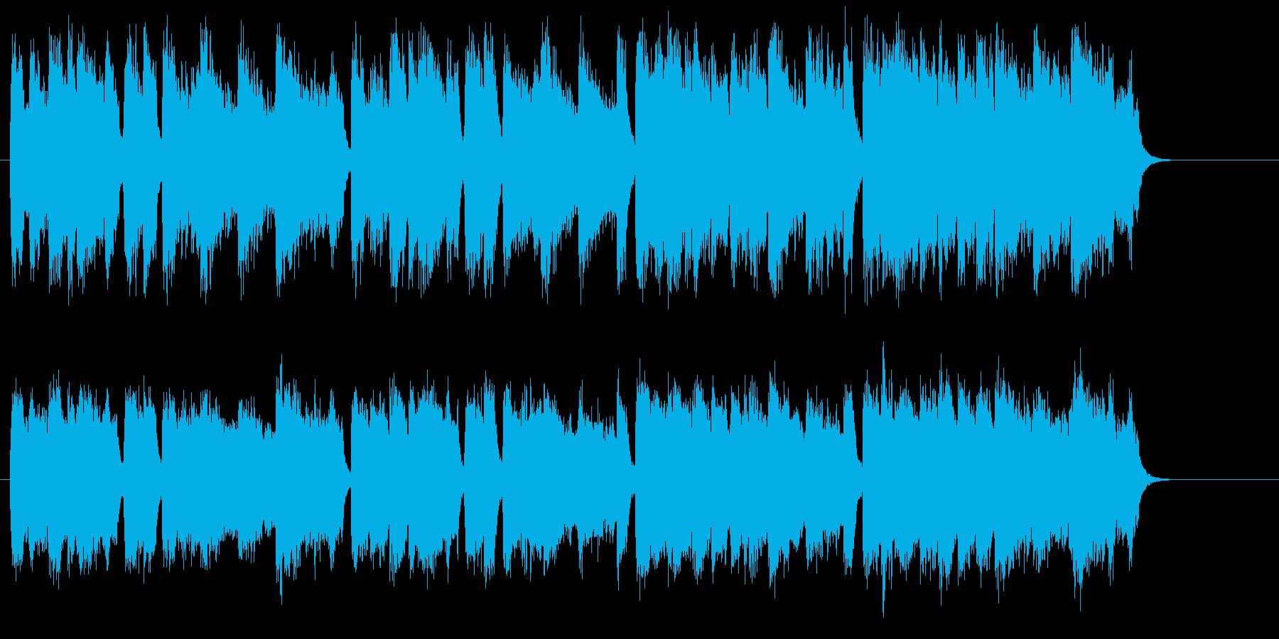 国家風のクラシカル・オーケストレーションの再生済みの波形