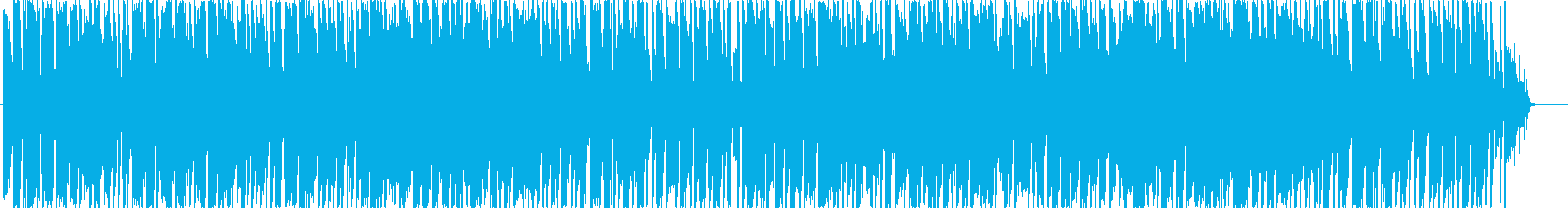 シンセメインのほのぼのしたポップスですの再生済みの波形
