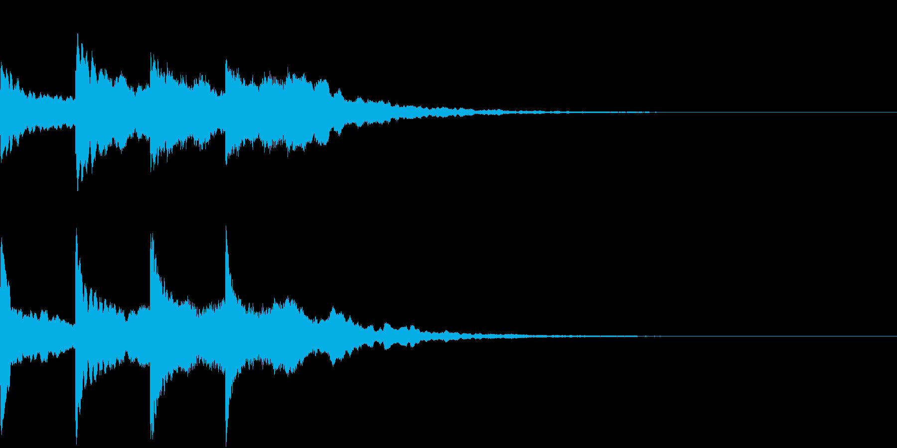 シンプル アナウンス 案内 放送 16の再生済みの波形