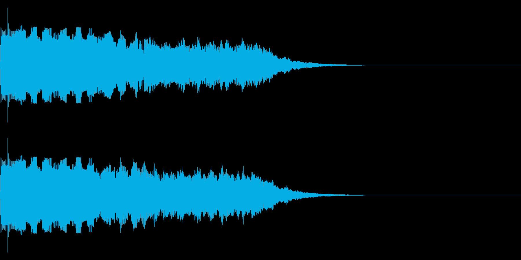 【SE 効果音】ピロピロの再生済みの波形