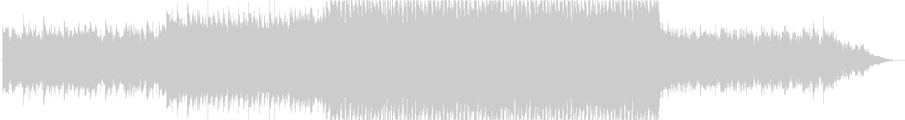 オツキミ / 和風FutureBassの未再生の波形