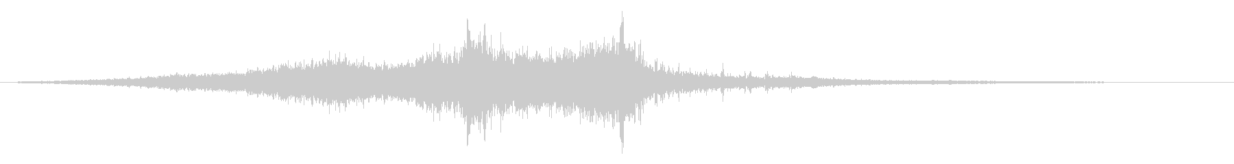 ホラー映画に出てきそうなノイズ系音源21の未再生の波形