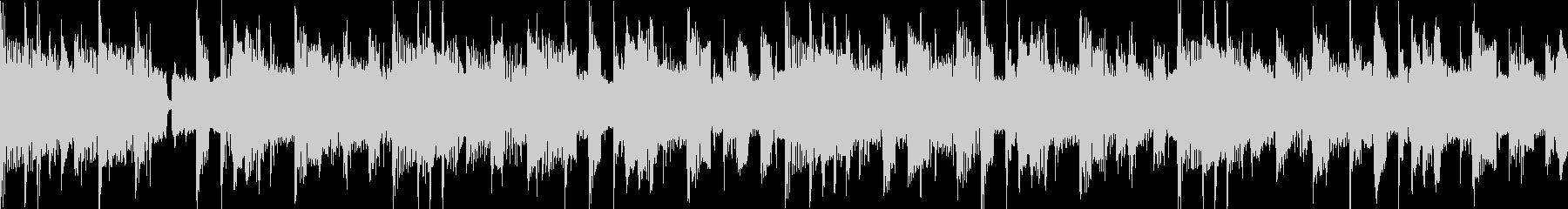 ファンク セッション風 ループ Emの未再生の波形