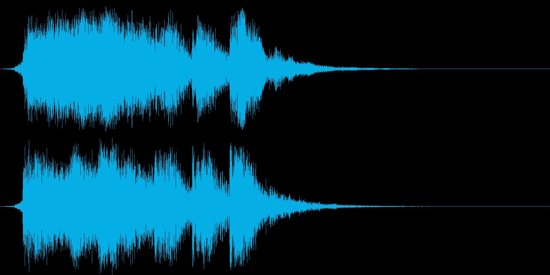 ファンタジー・クリア・ファンファーレの再生済みの波形
