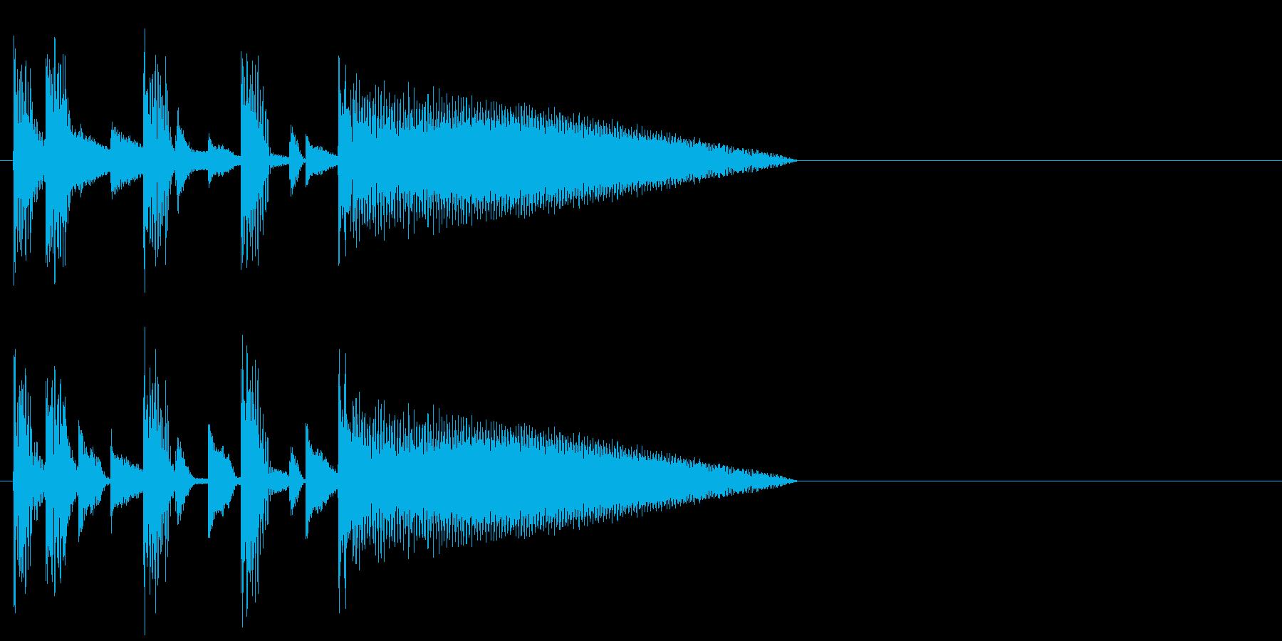 恐怖 不安 緊張 サスペンス 追跡 都会の再生済みの波形