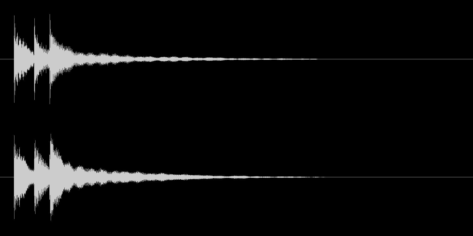 ピコリン(アイテムドロップ)の未再生の波形