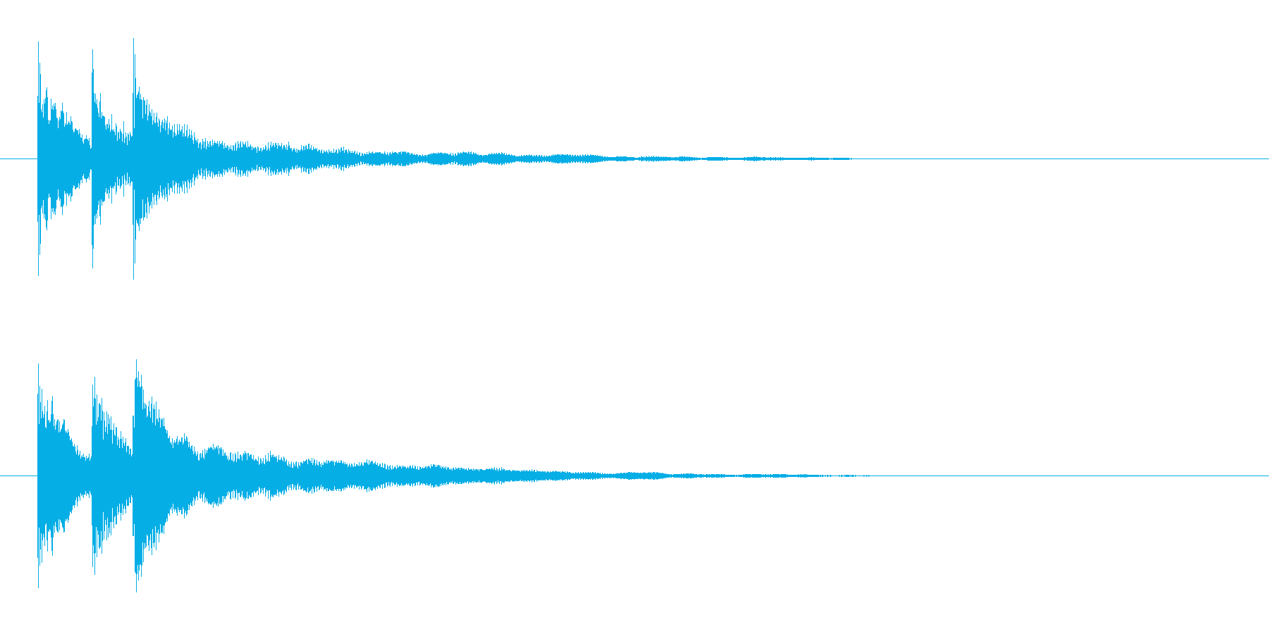 ピコリン(アイテムドロップ)の再生済みの波形