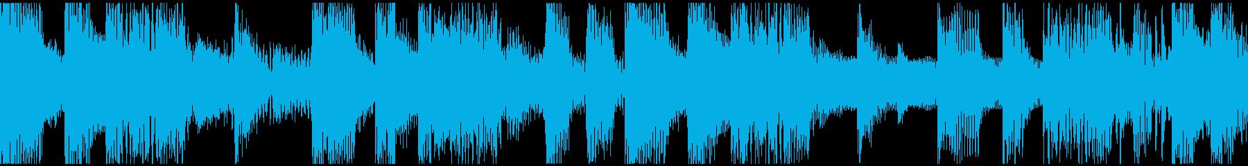 ループ。オシャレギター。80年代風。の再生済みの波形