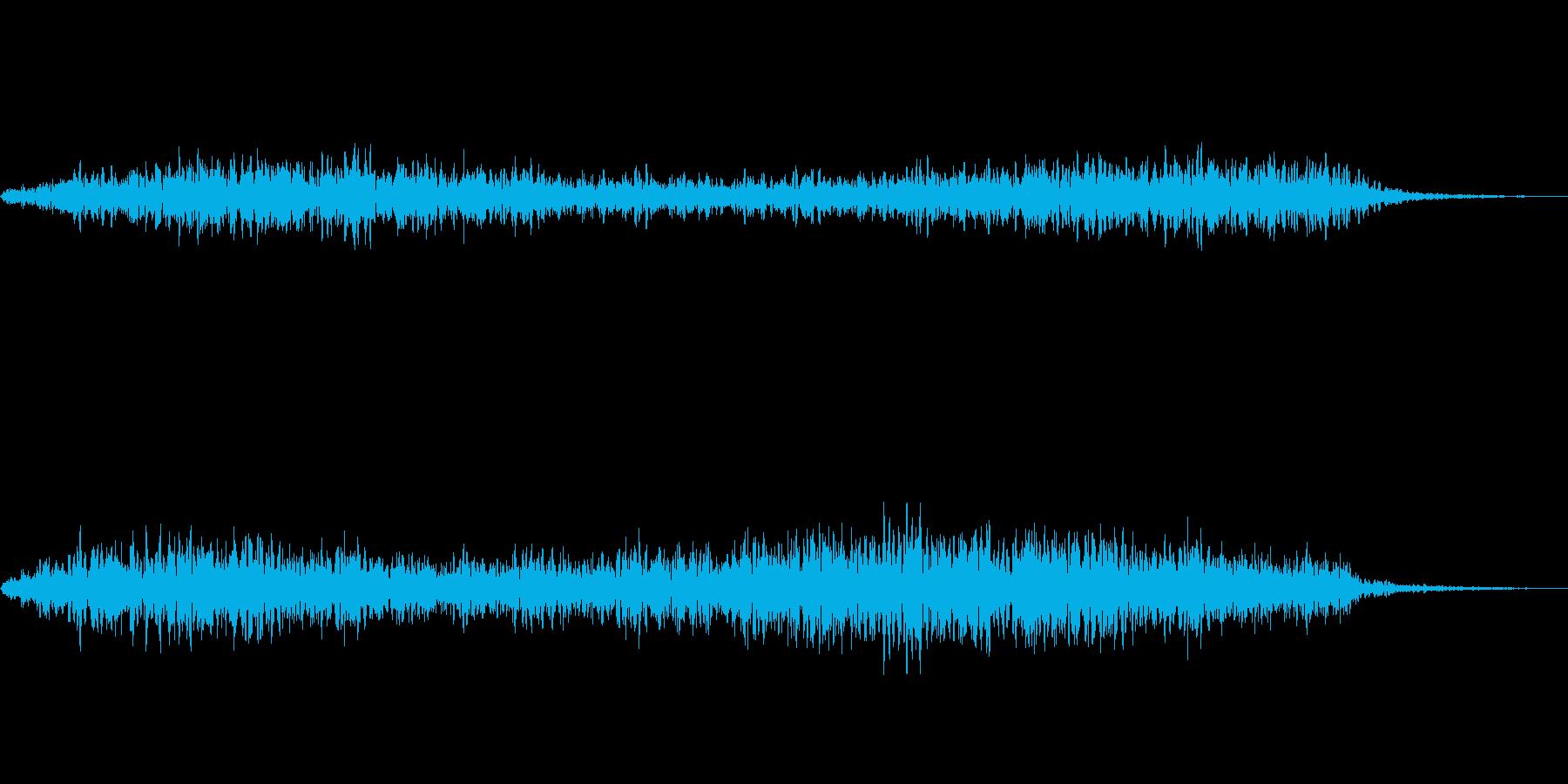 ヒュ~(強風)の再生済みの波形