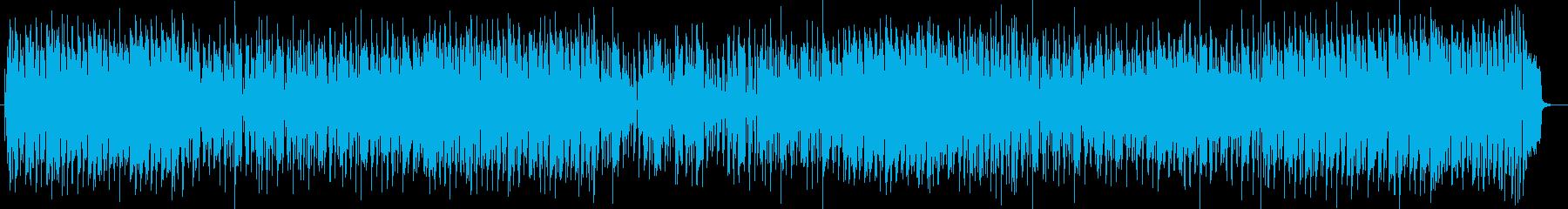 軽快なシンセポップスの再生済みの波形