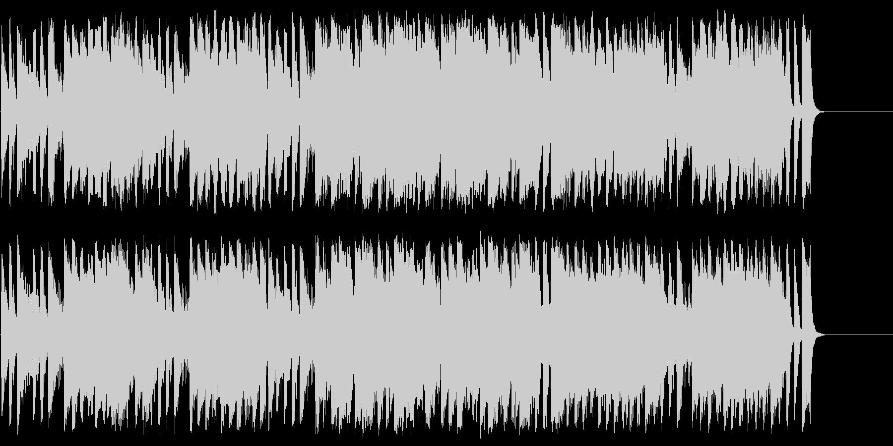 サーカスチックで不思議なメルヘンBGMの未再生の波形