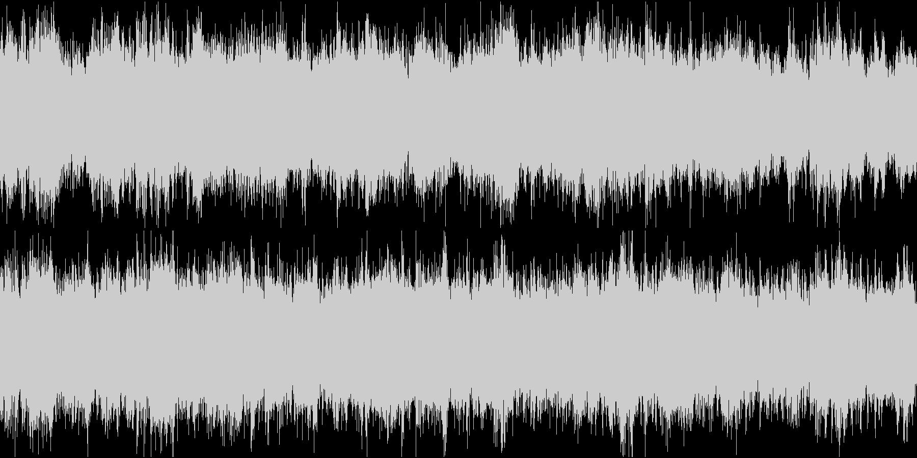 ドキュメンタリーやさしい曲1 リズムなしの未再生の波形