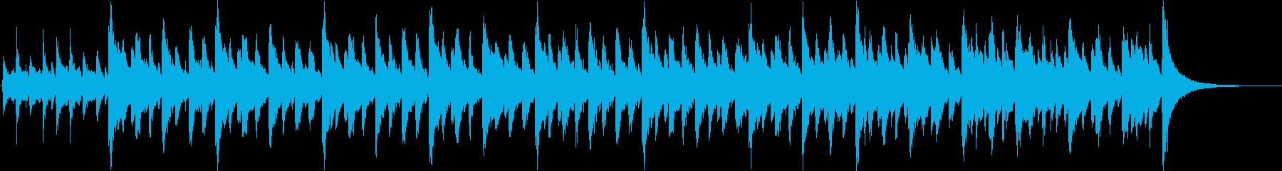 レトロゲームとマーチングバンドの再生済みの波形