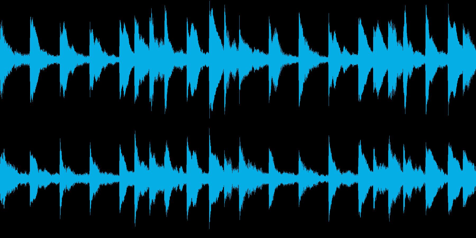 EDM クールなシンセループ 音楽制作用の再生済みの波形