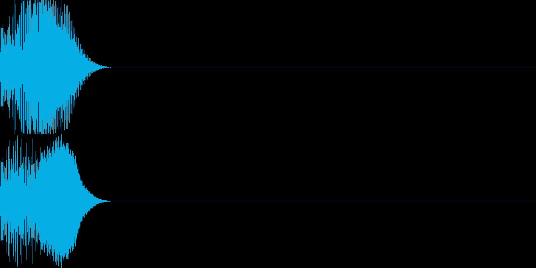 システム音47_シンセYの再生済みの波形