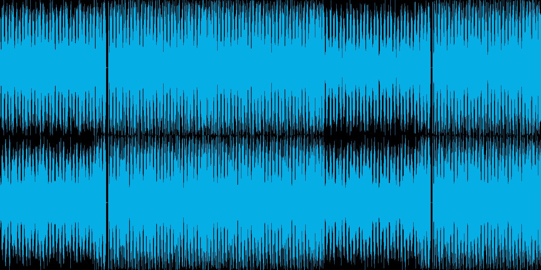 【おしゃれなラウンジハウス】の再生済みの波形