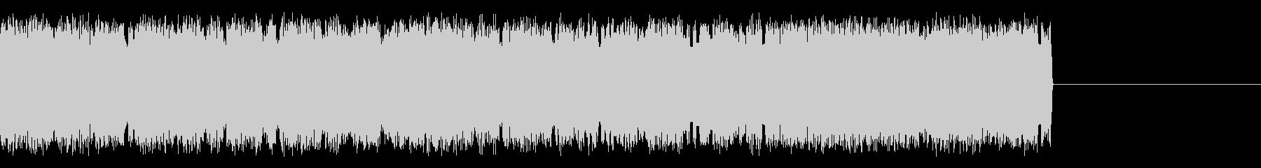 宇宙人・異世界人の会話 早口の効果音の未再生の波形