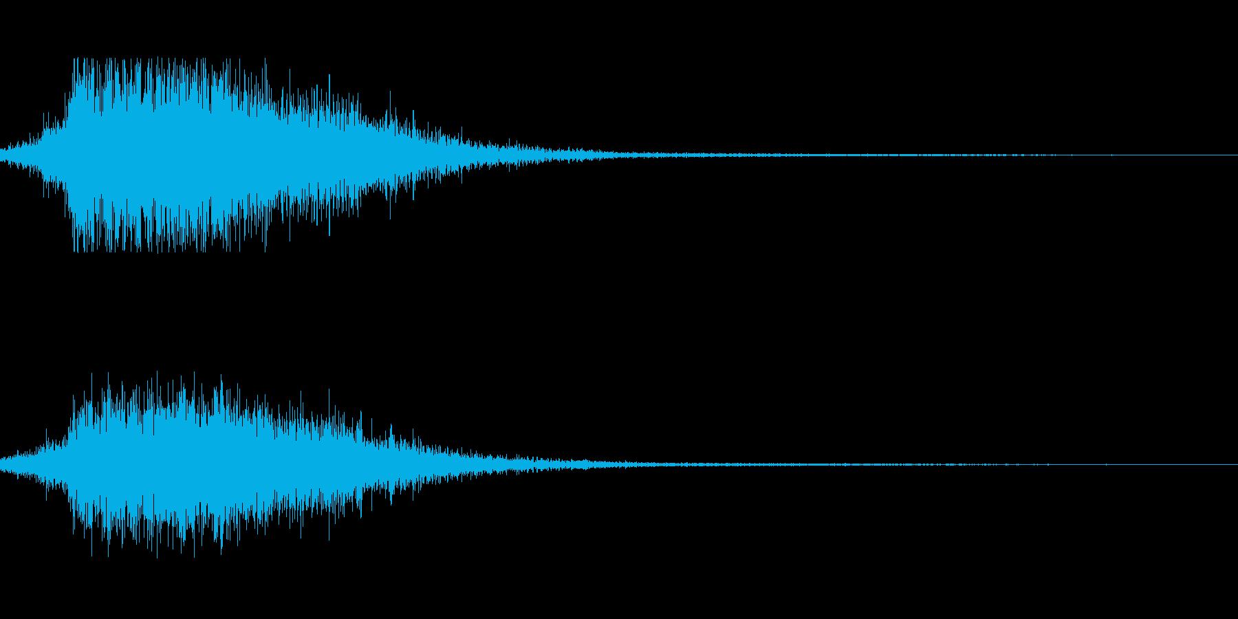 着水音にの再生済みの波形
