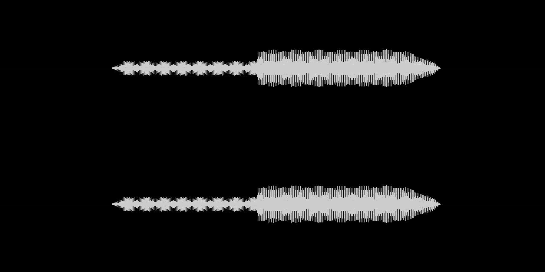 ピロッ↑【決定音:シンプルで可愛い】の未再生の波形
