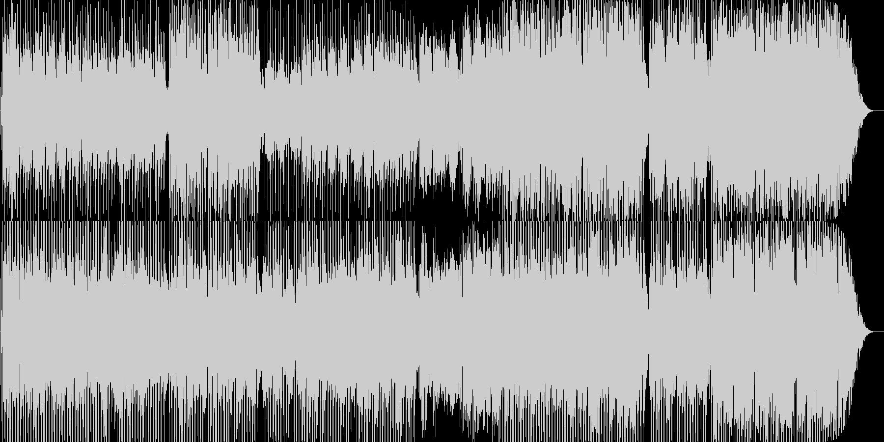哀愁漂うボサノバ調の楽曲ですの未再生の波形