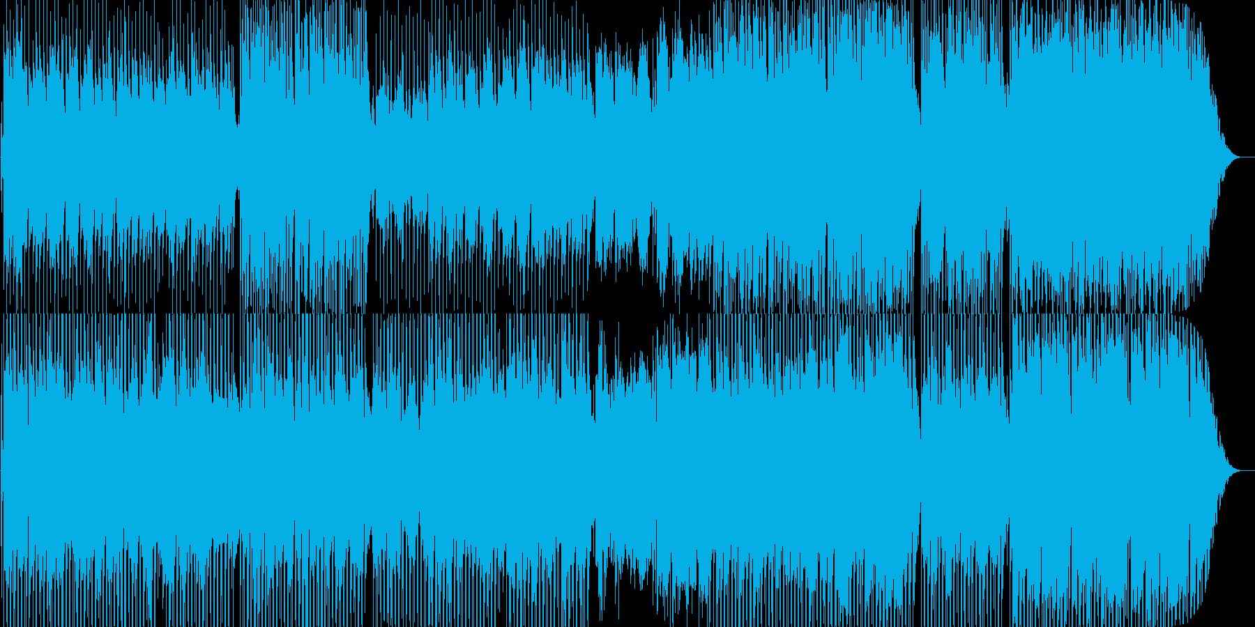 哀愁漂うボサノバ調の楽曲ですの再生済みの波形