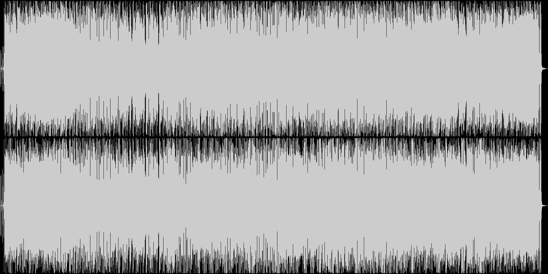 追跡のエレキギターの未再生の波形