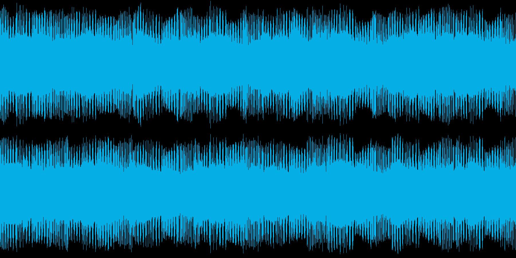 サイレン 警報 アラーム 緊急 ループの再生済みの波形