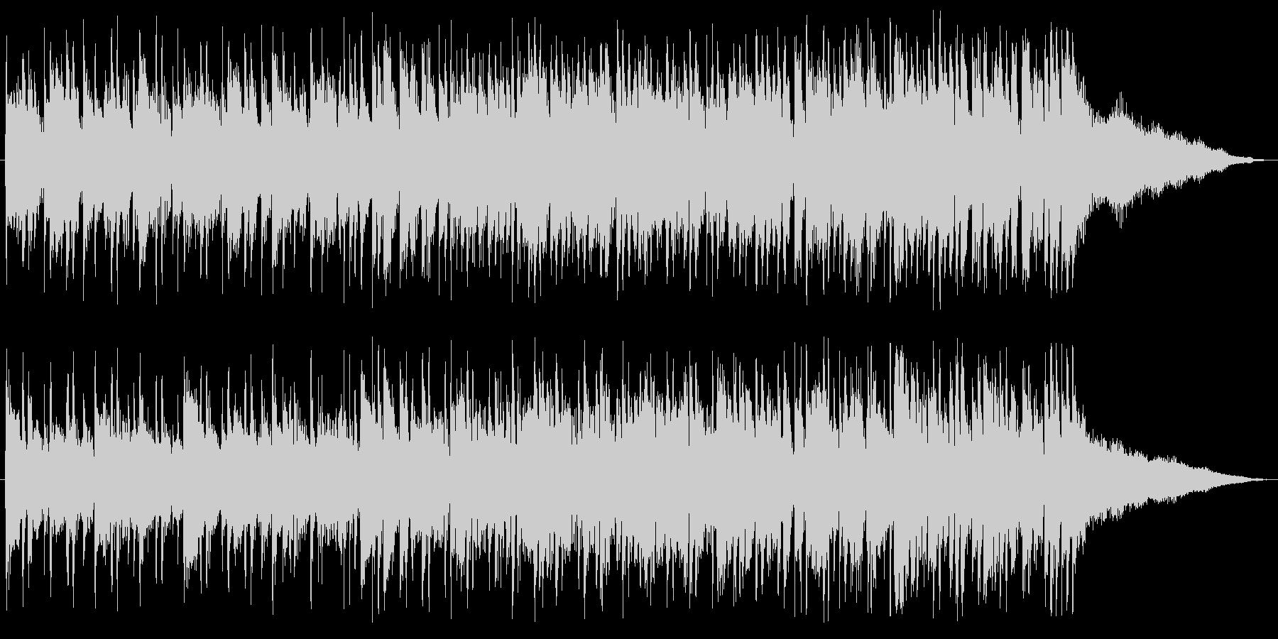 ボサノバギター、メロ入り、南風の未再生の波形
