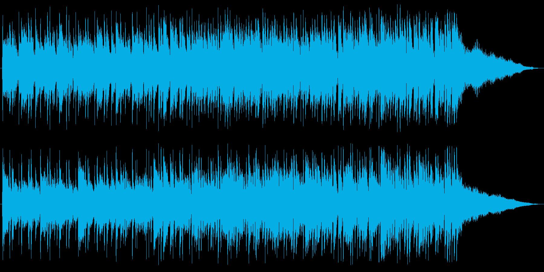 ボサノバギター、メロ入り、南風の再生済みの波形