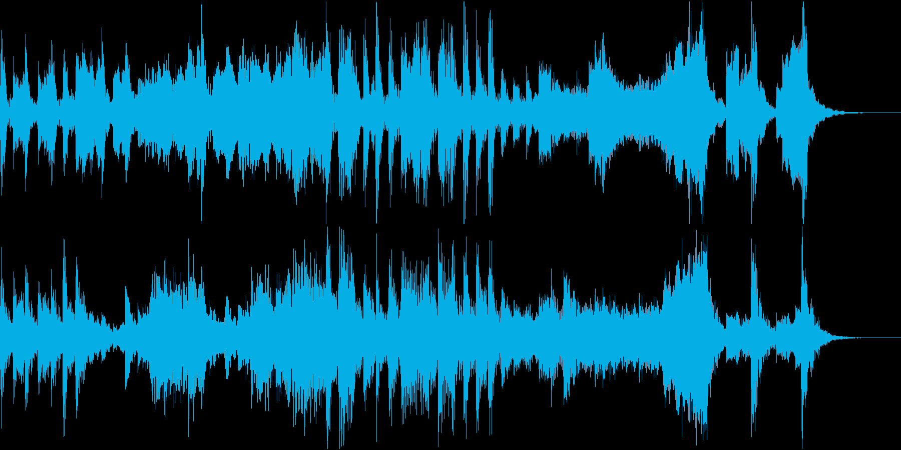 どこか間抜けなファゴットカルテットの再生済みの波形