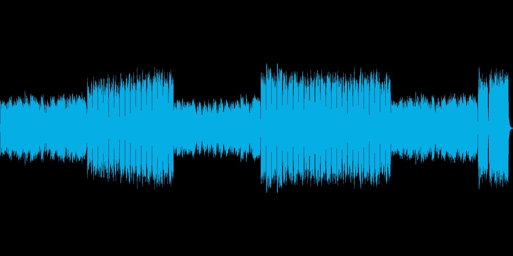 讃美歌をイメージしたBGMです。の再生済みの波形