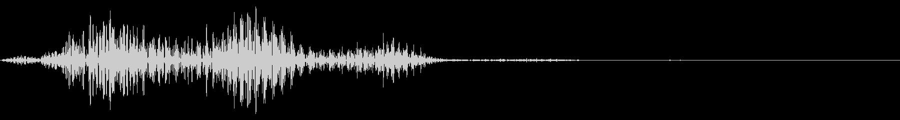 コメディタッチの擬音です。スワイプ音な…の未再生の波形