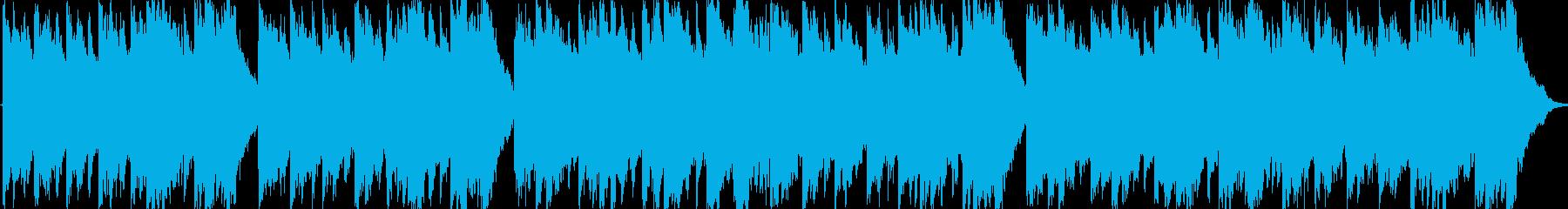 クリーガー作曲のメヌエットですの再生済みの波形
