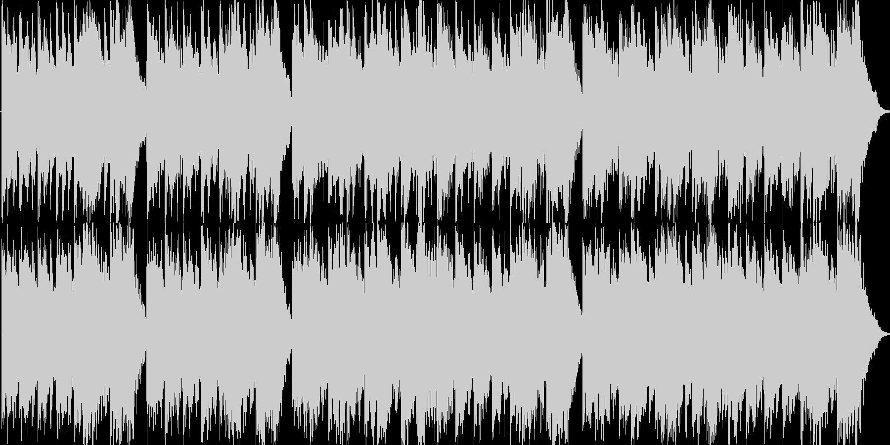 クリーガー作曲のメヌエットですの未再生の波形