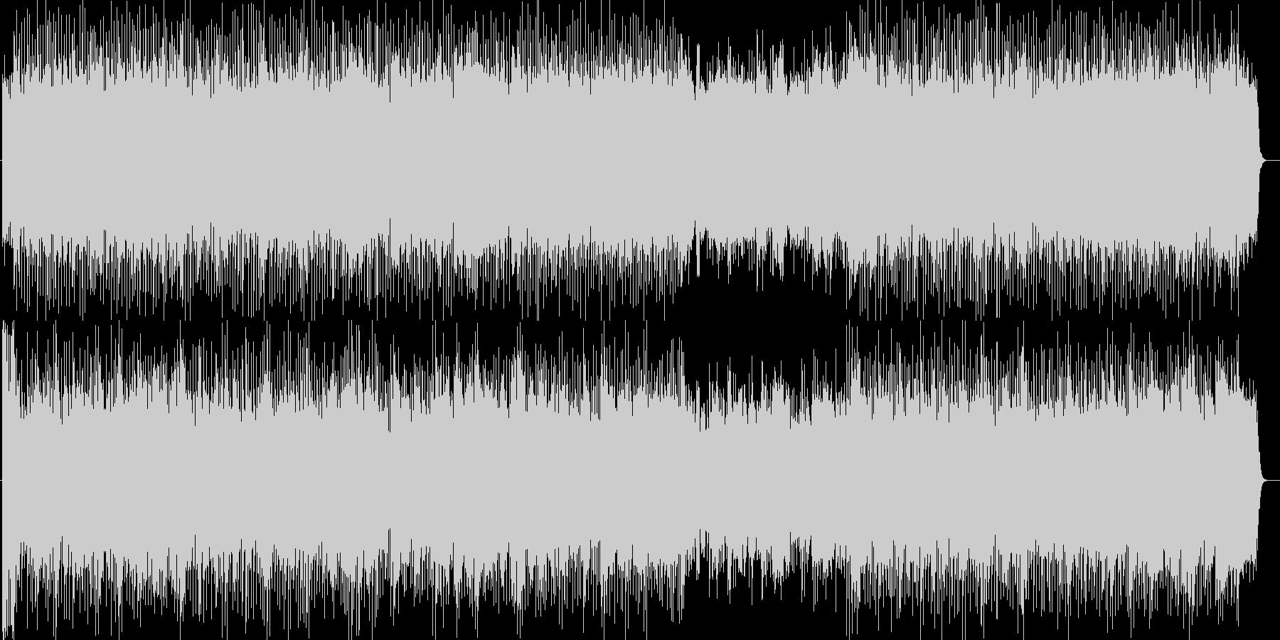 テーマパークショー風シンセやギター曲の未再生の波形