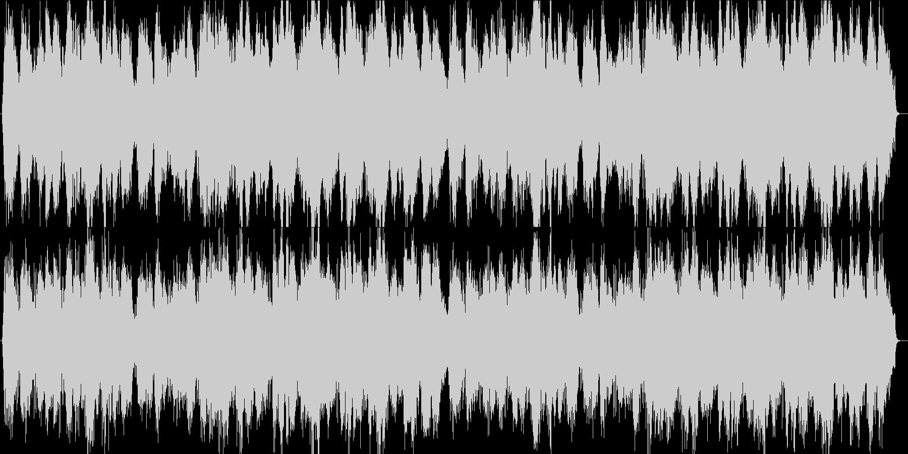 ラストシーンに使えそうな曲の未再生の波形